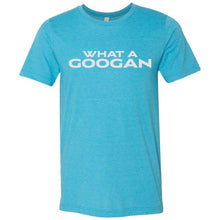 Load image into Gallery viewer, What A Googan Fishing Tshirt Heather Aqua