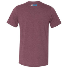 Load image into Gallery viewer, What A Googan Fishing Tshirt Heather Maroon