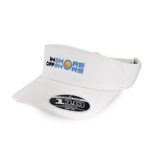 Inshore Offshore Performance Visor - White
