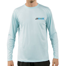 Load image into Gallery viewer, Diver with Hogfish Snapper Vapor Dri Fit - Arctic Blue