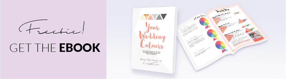 Freebie eBook on how to choose your wedding colours