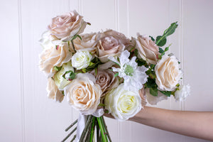 Cotton Blush Bridal Bouquet