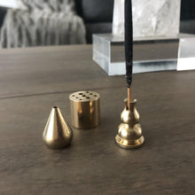 Brass Incense Holders-Nine Zen