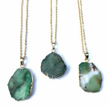"Chrysoprase ""Australian Jade"" Necklace 18""-Nine Zen"