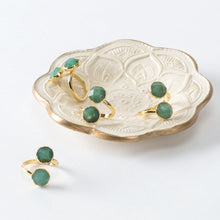 Chrysoprase Open Ring-Nine Zen