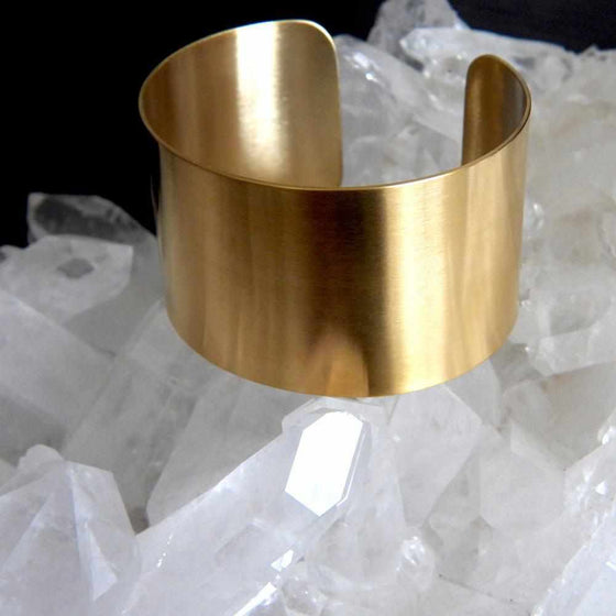Cleopatra Goddess Thick Cuff Bangle Bracelet-Nine Zen