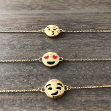 Cute & Fun Emoji Gold Bracelets-Nine Zen