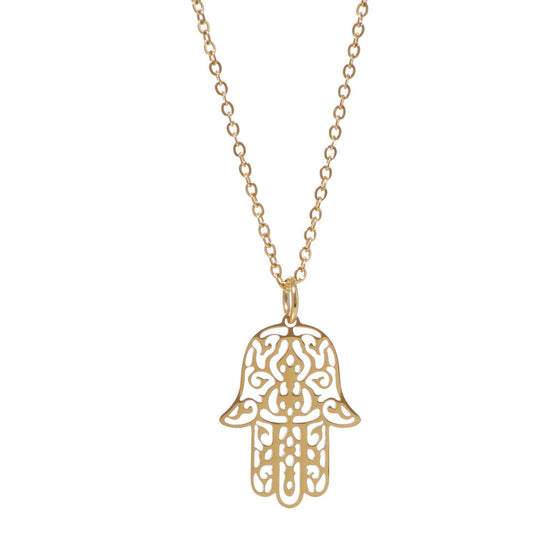 gold plated necklace online-Nine Zen