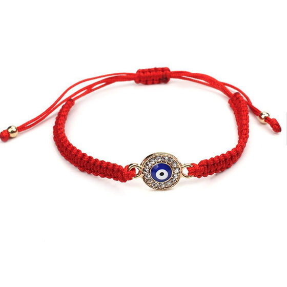 Evil Eye String Bracelet-Nine Zen