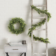 Faux Real Touch Garland & Wreath Set-Nine Zen