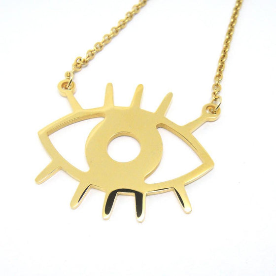 Lucky Evil Eye Necklace-Nine Zen