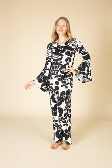 New Lola Ultra Soft Bamboo Pajama Set-Nine Zen