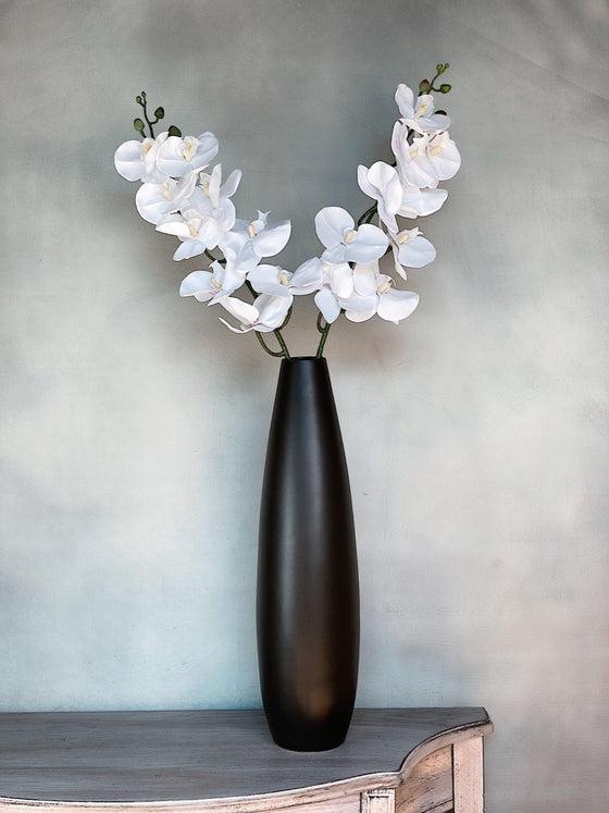 Real Touch Faux Phalaenopsis Orchid Stem-Nine Zen