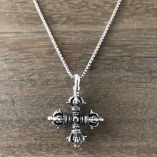 Vintage Style Cross Necklace-Nine Zen