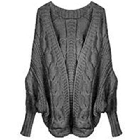 Winter Poncho Cardigan