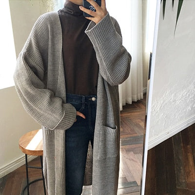 Long Large Cardigan