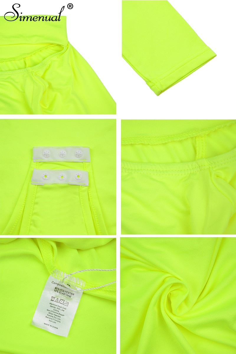 Neon Cut Bodysuit