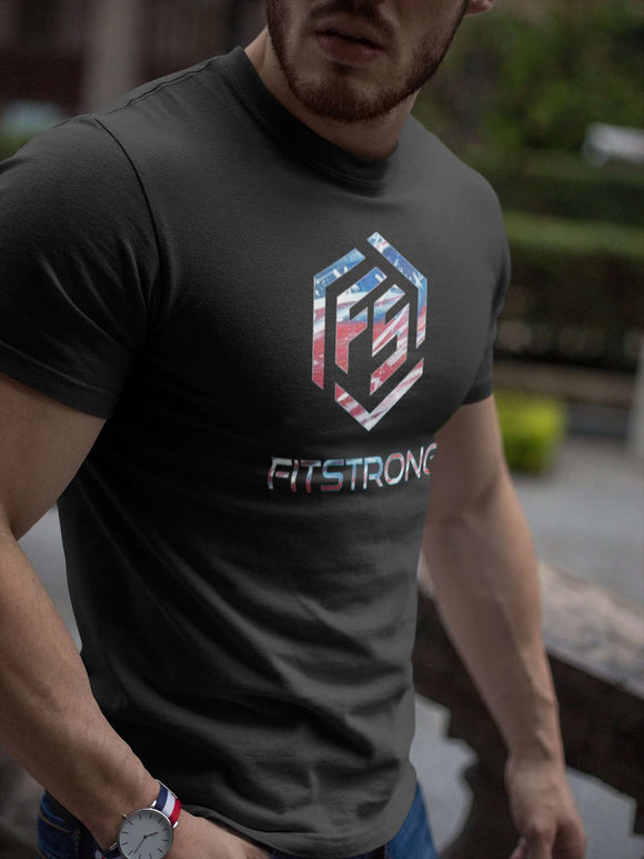 FitStrong Crewneck - 4th Of July Limited Edition - FitStrong Supplements