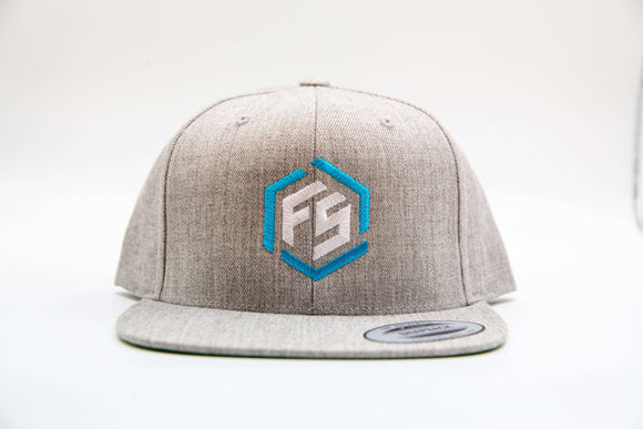 FitStrong Snapback (Grey) - FitStrong Supplements