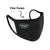Custom Face mask Free Nose Adjuster, Reusable Fliter Pocket Facemask Adults, PM2.5 filter cotton mask, personalized mask - MSK301B