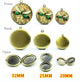 Round Photo Locket Charm Size, 32mm, 25mm, 20mm