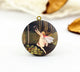 Vintage Fairy Bubble Charm Locket Necklace