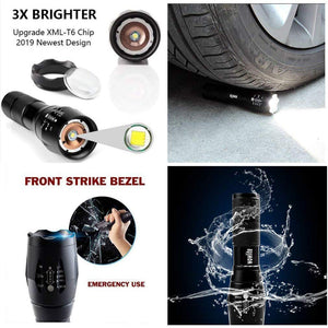 Ultra Bright Tactical Flashlight (Made of Aluminum Alloy)