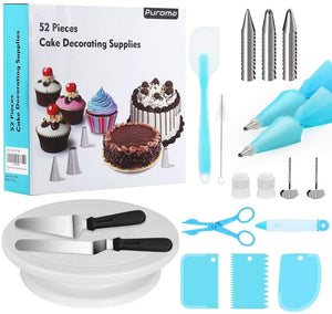 52Pcs Cake Decorating Tool Set