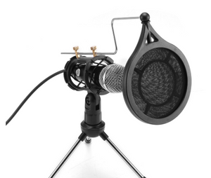 Condenser Microphone for Mobile Phones/Tablet/Laptop (Plug & Play)