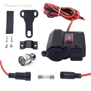 4 in 1 Multifunctional Power Supply for Motorcycles