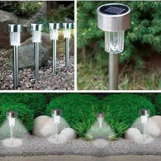 5PCS LED Garden Light Solar Powered (Waterproof)