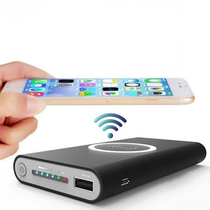 Fast Charging Wireless Powerbank (10000 mAh)