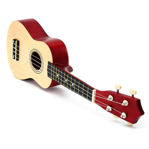 21 inch Ukulele Soprano 4 Strings Basswood Guitar