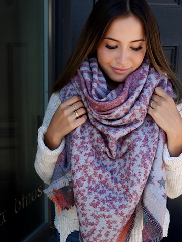 *New* Star Blanket Scarf