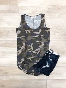 *New* Dusty Camo tank