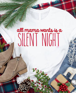 *New* All mama wants is a silent night