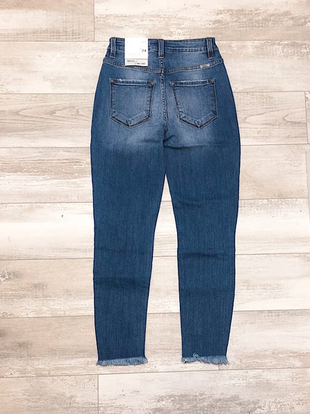 Kancan Medium Wash High Rise Super Skinny