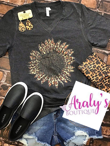 *Preorder* Leopard Sunflower (S-2xl)