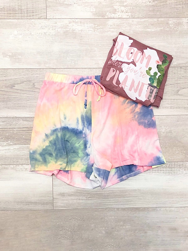 *New* Tie Dye Shorts