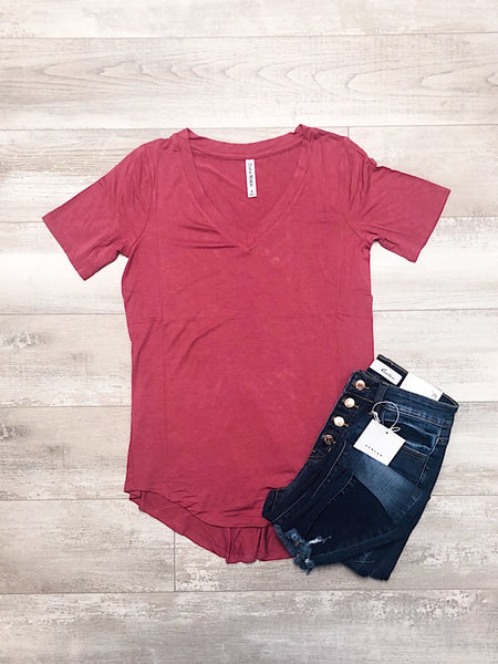 Rose Short Sleeve Top