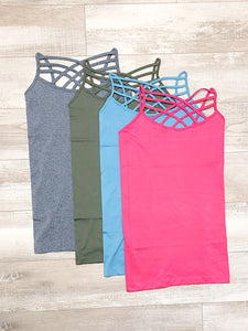 *New* Criss Cross tanks