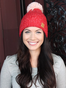 *New* Red Beanie