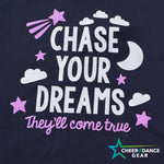 Navy Blue Chase Your Dreams Night Tee