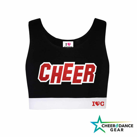 Cheer Inspired Crop Top