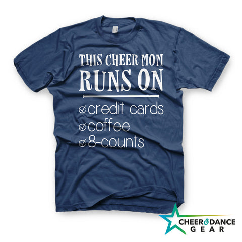 Cheer Mom Runs on