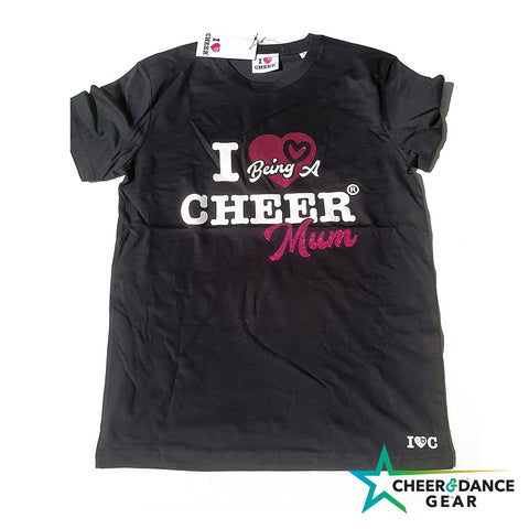Cheer Mum Glitter T-Shirt