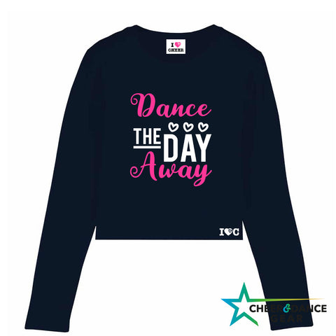 Dance The Day Away Long Sleeved cropped Tee