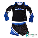 Bay Twister Uniform Long Top Set