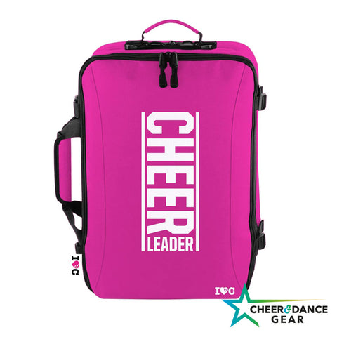 Pink Cheerleader Travel Case