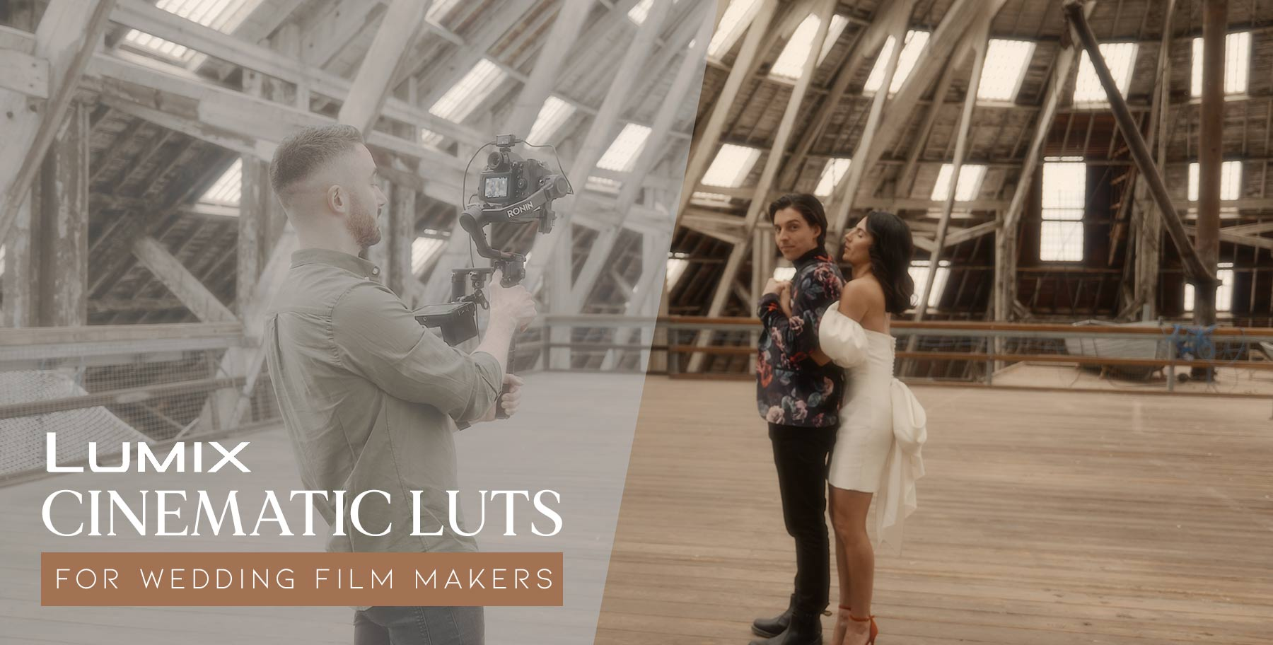 Cinematic LUTs for Lumix Shooters